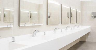 higiene de banheiro comercial
