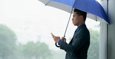 dias chuvosos em empresas