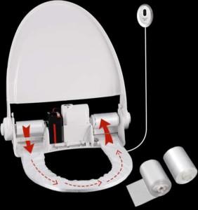 protetor de assento sanitário para banheiro hospitalar