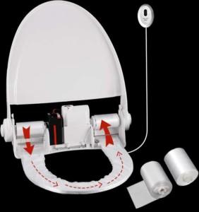 protetor de assento sanitário automatizado