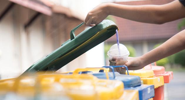 gestão de resíduos em soluções sustentáveis